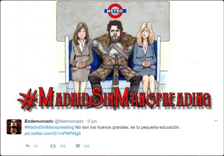 madridSinManspreading 3