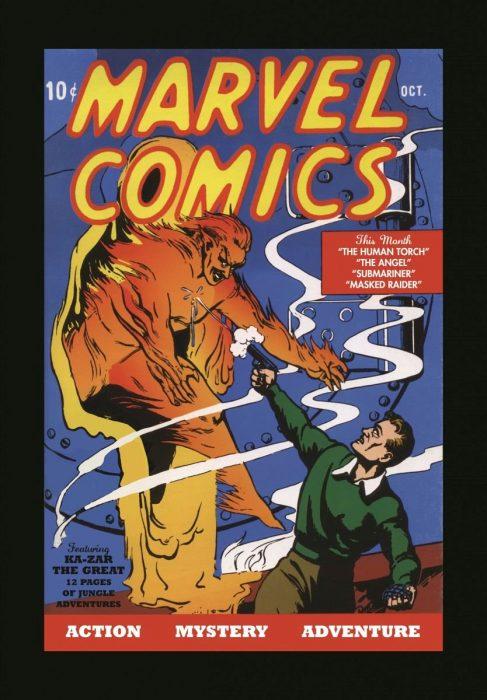 Primer número de Marvel Comics