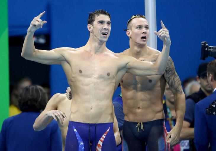 Michael Phelps en Rio 2016