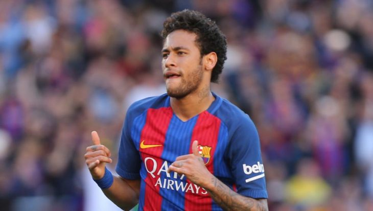 Neymar en Jimmy Kimmel mete gol de edificio a otro 2