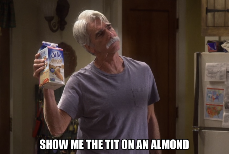 Show me the tit on an almodn the ranch