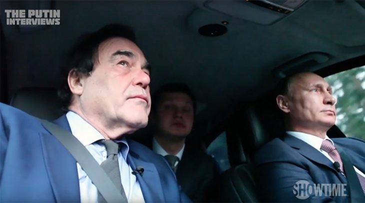 Oliver Stone y Vladimir Putin