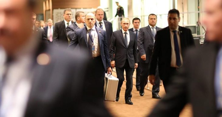 Equipo de seguridad de Putin