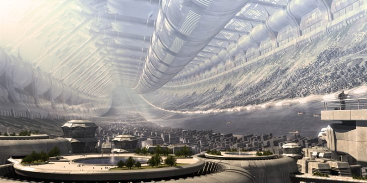 colonia espacial