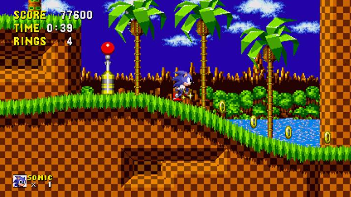 Sonic de Sega para celular