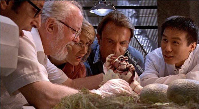 Jen Lewis Dinosaurios y Jurassic Park