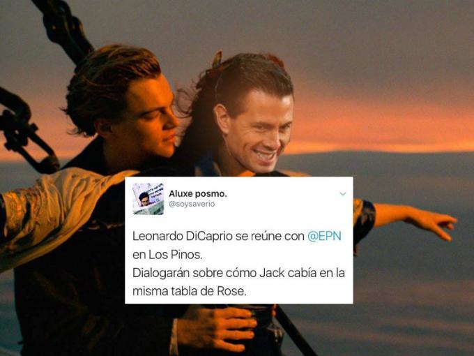 Memes Peña Nieto y DiCaprio 6