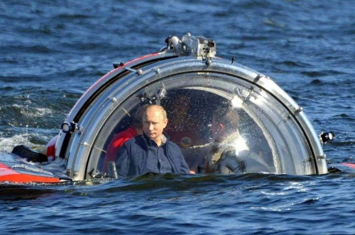 putin submario