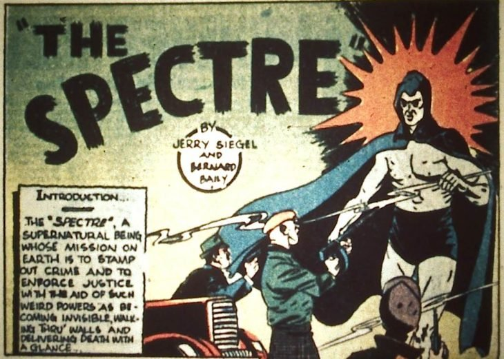The Spectre en comic