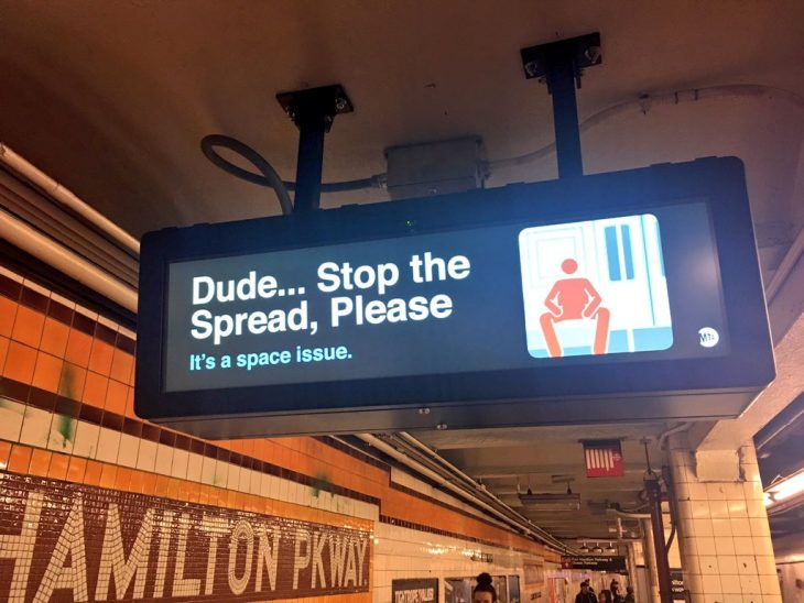 madridSinManspreading nueva york