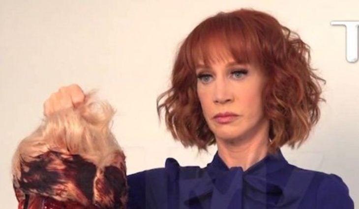 Kathy Griffin Trump cabeza polémica