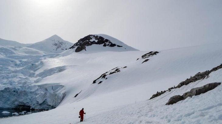los misterios de la antártida