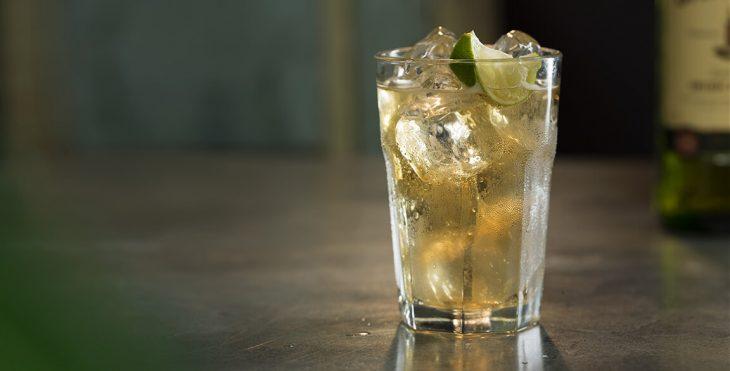 Bebida preparada con whisky