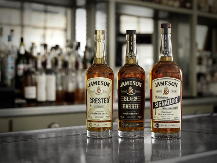 Botellas de Jameson