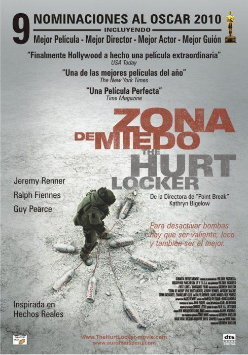 Zona de miedo, deKathryn Bigelow (2009)
