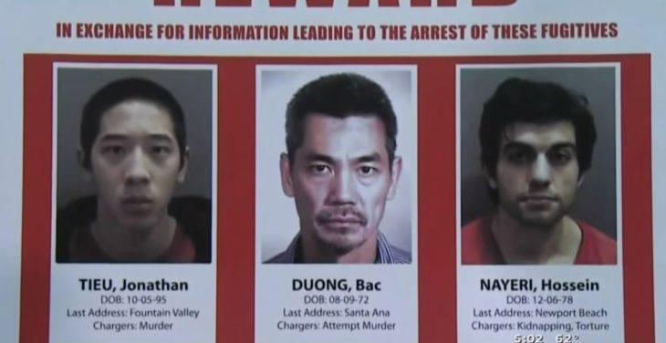 escapan de la cárcel y lo graban