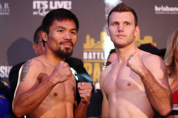 Jeff Horn vs Pacquiao