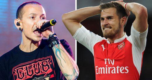 Aaron Ramsey mete gol y Chester de 'Linkin Park' pierde la vida; ¿uno más a su maldición?