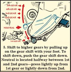 pasocinco manejar moto