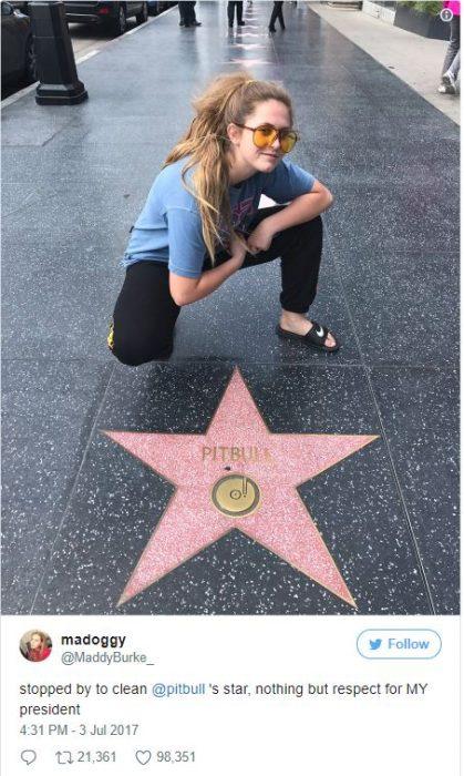 Chica limpia estrella de donald trump 16