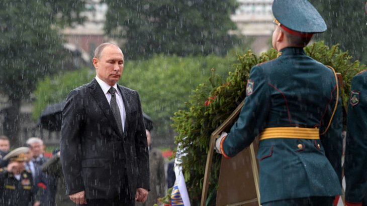 Putin lluvia