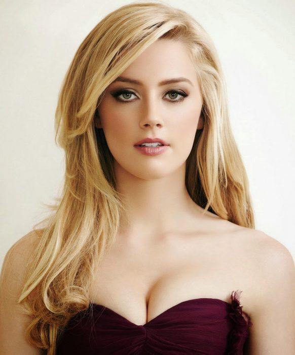 Amber Heard con vestido