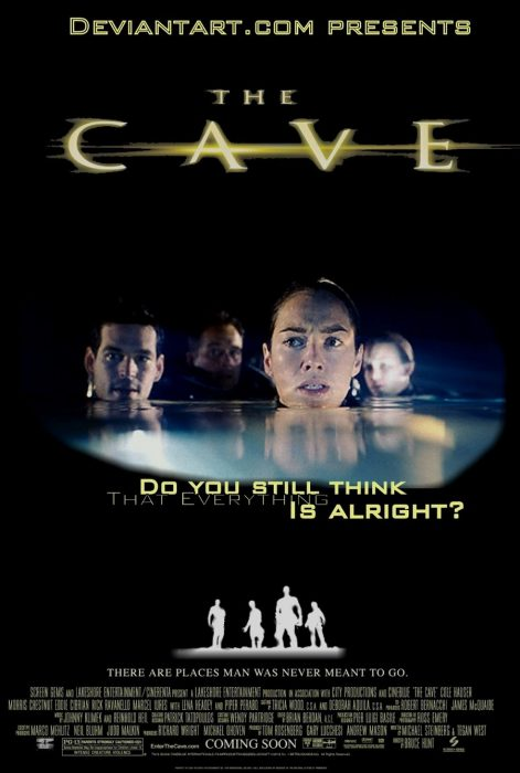 Cartel de The Cave