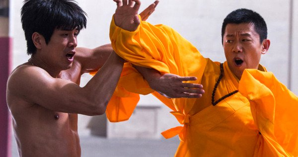 Bruce Lee pelea birth of the dragon