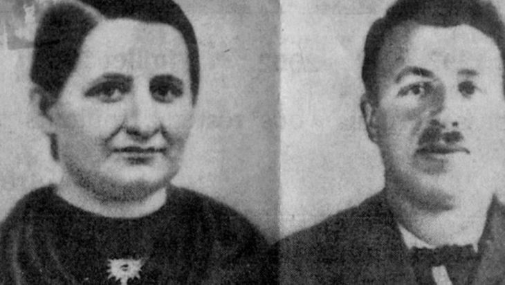 pareja encontrada después de 75 años