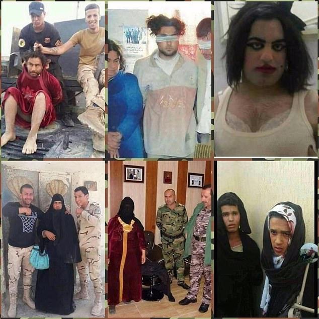 yihadista disfrazado de mujer
