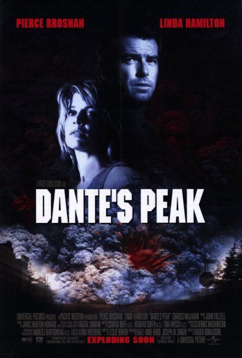 Cartel de El pico de Dante