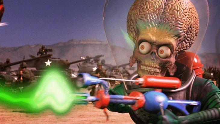 aliensmars attack