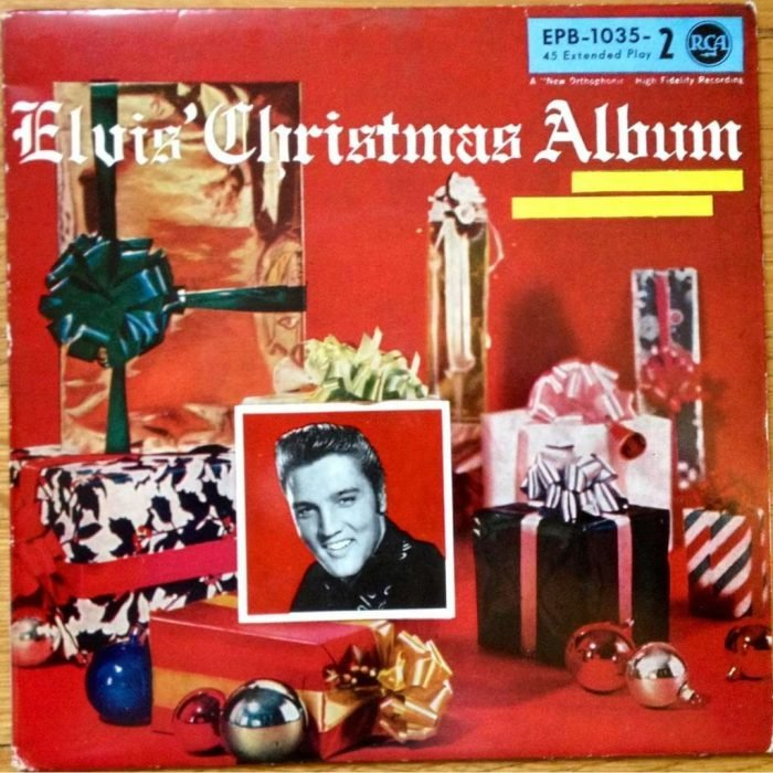 Disco navideño de Elvis
