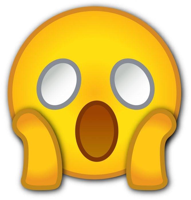 Emoji de sorpresa