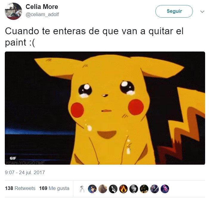 paint está vivo