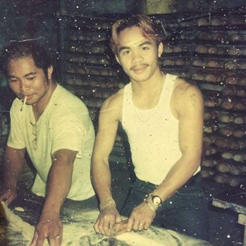 Manny Pacquiao joven panadero