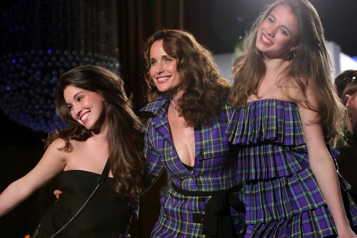 Andie MacDowell, Rainey y Margaret Qualley