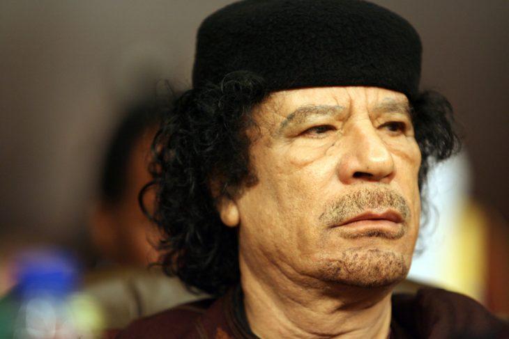 Muamar Al-Gaddafi