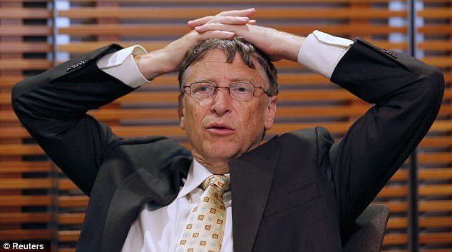 Bill gates crying