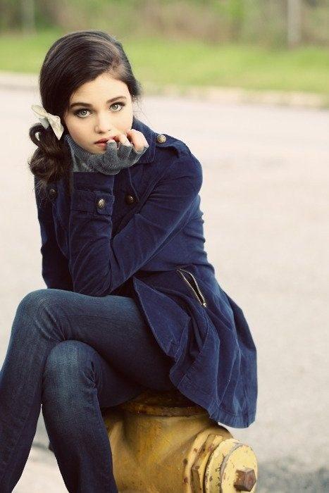 India Eisley de los rostros más bellos