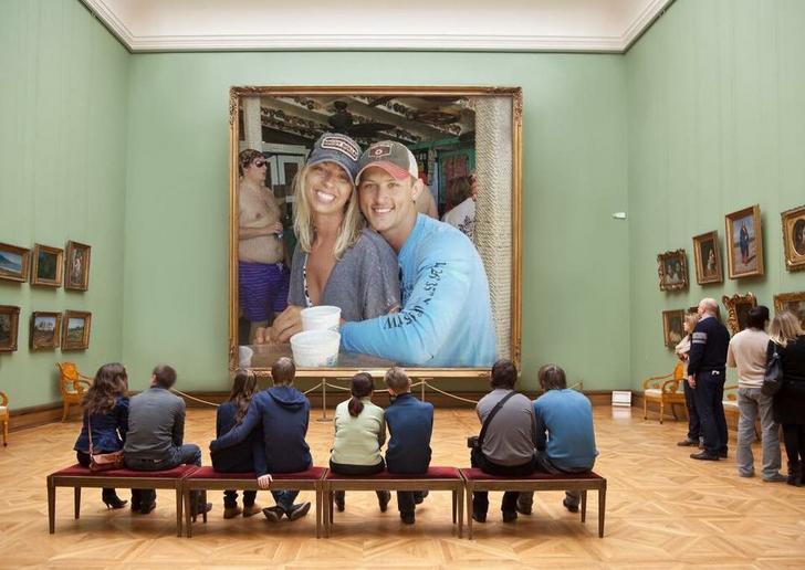 Photoshop gordo museo
