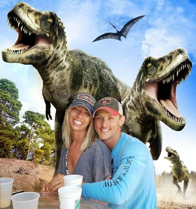photoshop dinosaurios