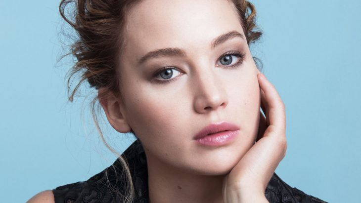 Rostro de Jennifer Lawrence