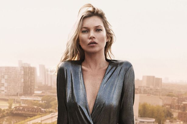 Kate Moss en la ciudad