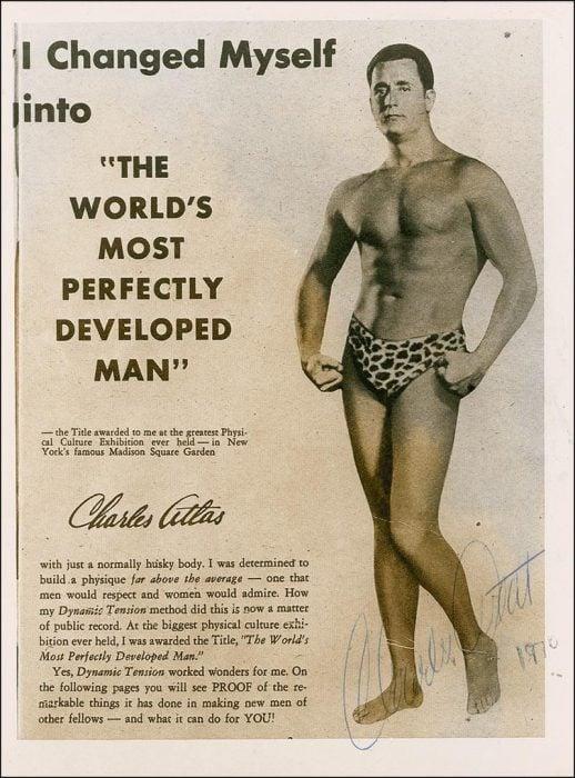 Charles Atlas cuerpos perfectos