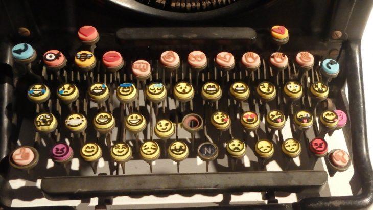 Máquina de escribir de emojis