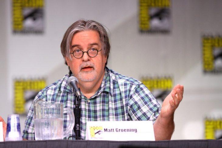 Matt Groening en Comic Con