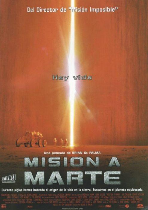 Cartel Misión a Marte
