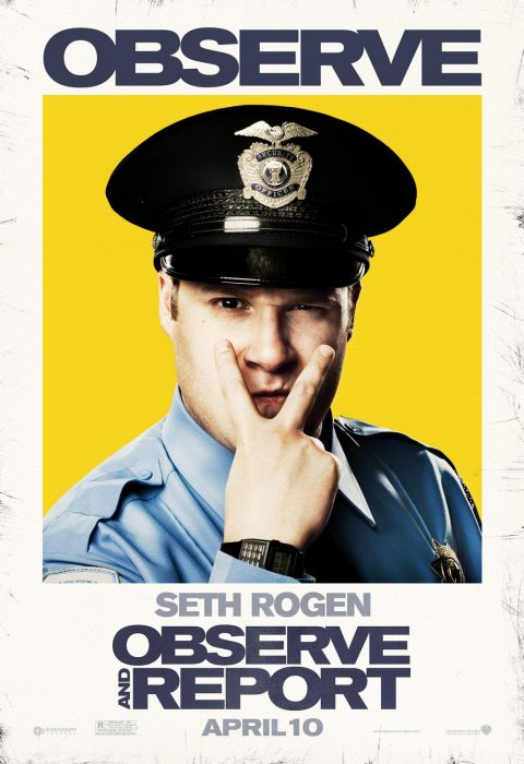 Cartel de Observe and report