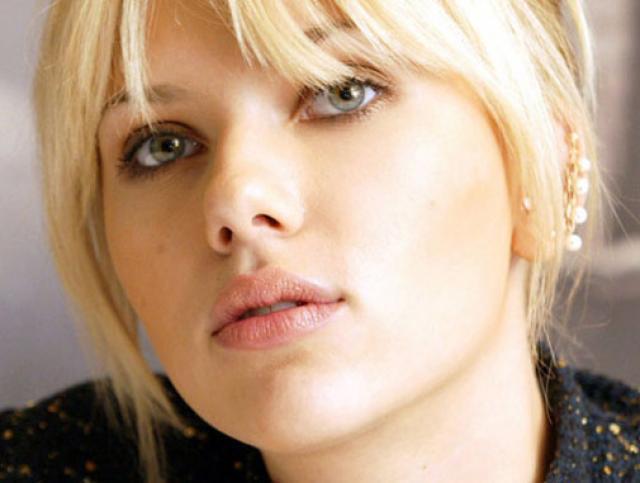 Sacrlett Johansson ojos bellos